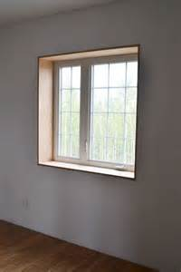 trim a window interior white easy window trim diy projects