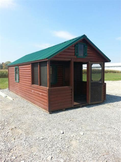 Rent To Own Cabins Ohio by Columbus Ohio Cing Cabin Portable Cabins Log Cabins