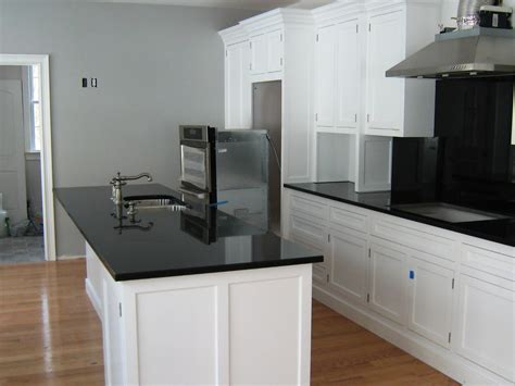 black white countertop absolute black granite installed design photos and reviews