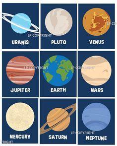 space themenzimmer free solar system printables weltall schule und