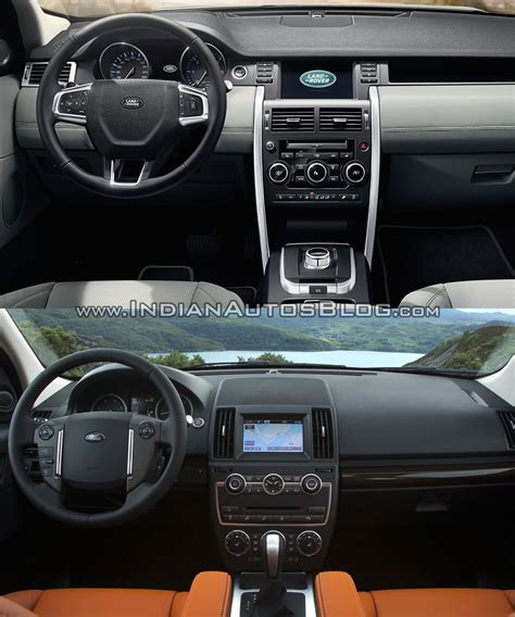 land rover discovery sport interior old vs new land rover discovery sport vs freelander