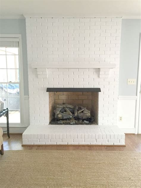 painting fireplace white the 25 best ideas about paint fireplace on brick fireplace makeover paint brick