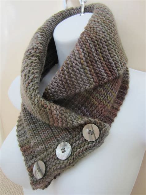 knitting pattern scarf button shawl collared cowl knitting pattern love shawl collars