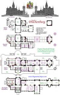castle blueprint drachenburg castle floor plan