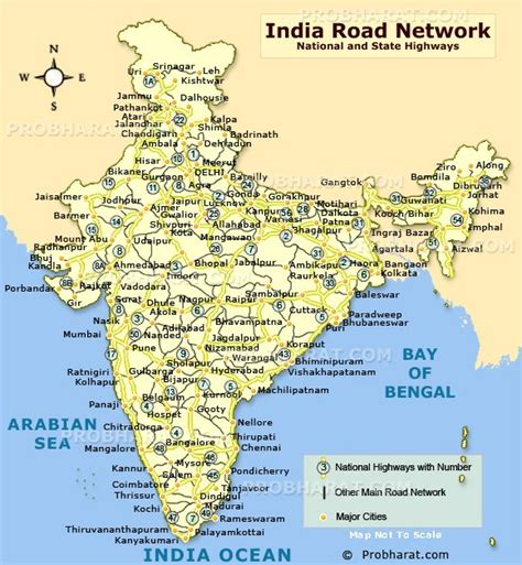 show road map india road map road connectivity in india map