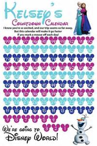 Free Disney Templates by 10 Printable Disney Countdown Calendars Baby