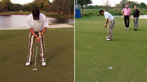 dana quigley golf swing dana quigley gives advice for making pressure putts golf