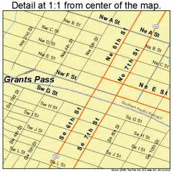 grants pass oregon map 4130550