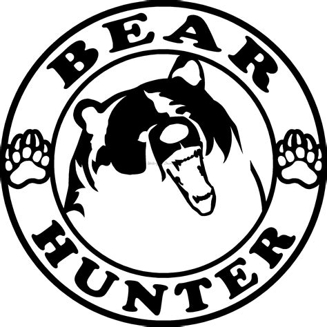 Hunt Sticker