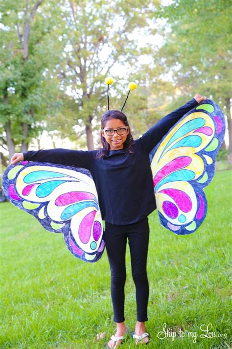 diy butterfly costume  michaelsmakers skip   lou