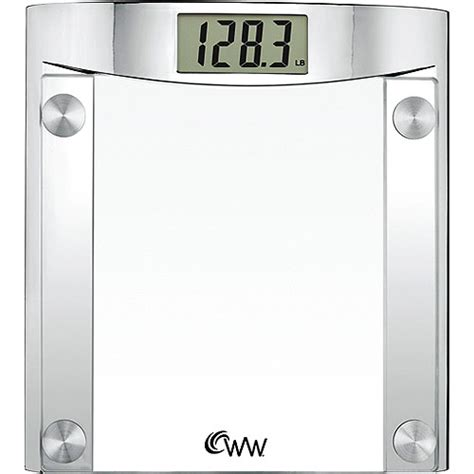 weight watchers bathroom scales weight watchers chrome and glass digital bath scale