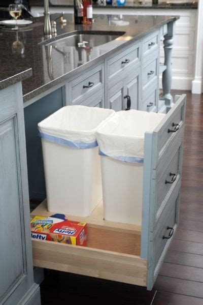 Trash Can Drawer by Pull Out Drawer For Garbage Cans Briar Hill