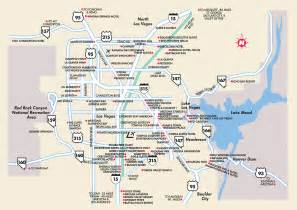 Map Las Vegas Nv by Las Vegas Surrounding Areas Nevada Map Las Vegas Nv
