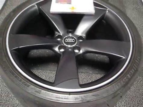 Alufelgen Schwarz Lackieren Kosten by Audi A5 S5 Rs5 Alufelgen 19 20 Zoll Rotor Schwarz Matt
