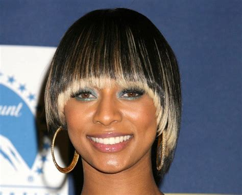 even out asymmetrical bob keri hilson s hairstyles in pictures keri hilson