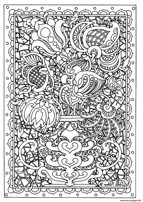 coloring pages for adults difficult flower flower difficult coloring pages printable