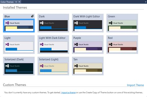 Theme Editor Visual Studio 2015 | visual studio カラーテーマを追加する拡張機能 visual studio 2015 color
