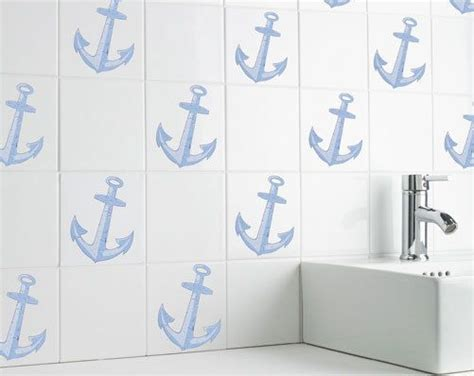 tile transfers for bathroom self adhesive nautical bathroom tile transfers bath shower