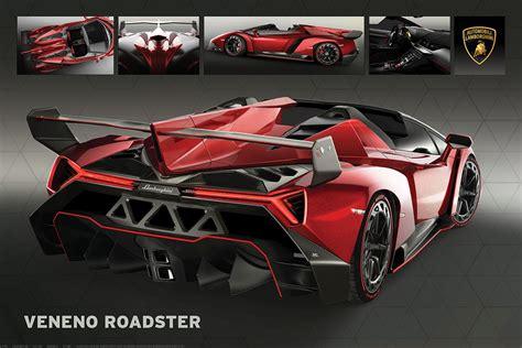 Sport Car Lambo Veneno lamborghini veneno roadster athena posters