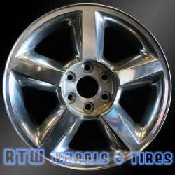 Chevy Truck Wheels For Sale Chevy Tahoe Wheels For Sale 2007 2009 20 Quot Polished Rims 5308