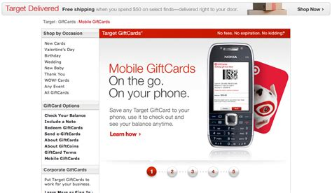 How To Redeem Target E Gift Card In Store - treocentral com gt gt stories gt gt business gt gt target unveils mobile giftcard