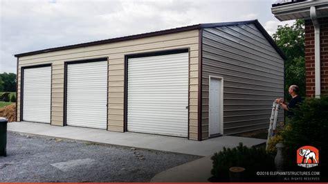 Building A Metal Carport Metal Garages For Sale Order Customized Metal Garage And Kits