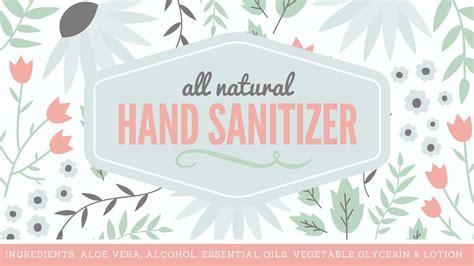 sanitizer label template sanitizer label free printable with recipe