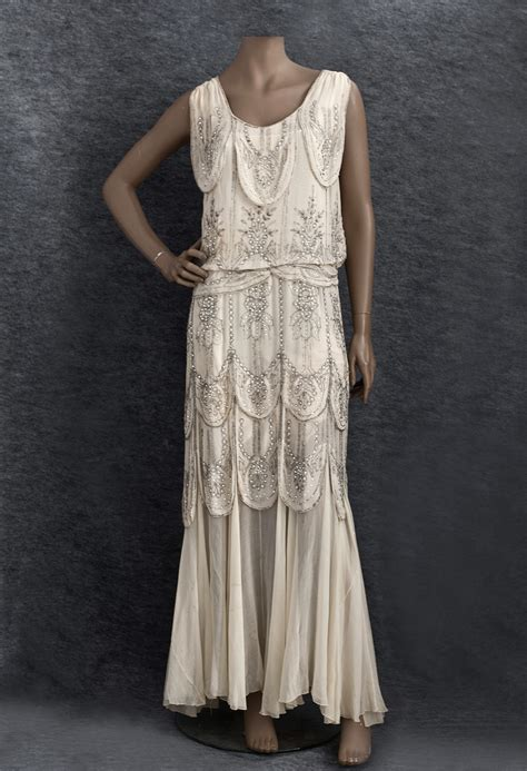 vintage beaded dresses vpod vintage 1930s beaded evening or bridal dress