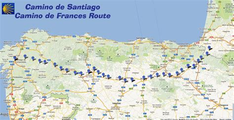 camino de compostela routes trekcapri s camino de santiago buen camino