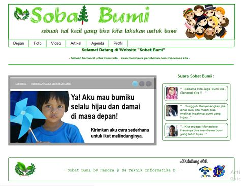 sulkani s blog contoh membuat web dengan css contoh website css3 html 5 tema go green tundhu blog