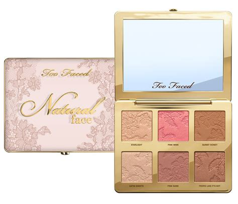 Faced Palette faced it just comes naturally collection news beautyalmanac