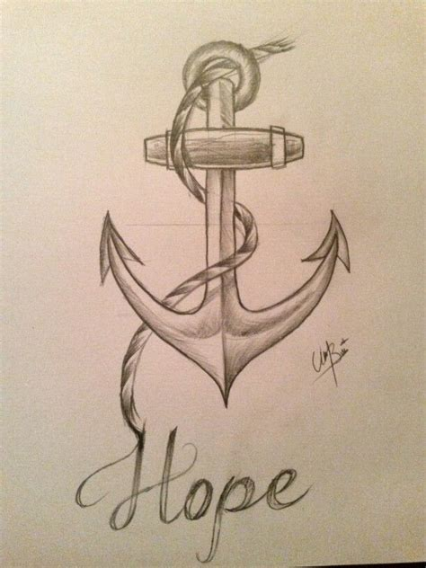how to doodle ideas anchor drawing artwork drawings drawing