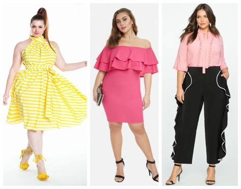 whats in atyle for the plus size gurl top spring 2017 trends plus size women should try