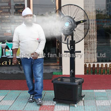 industrial fan with water spray debenz brand water fan industrial fan water air cooling