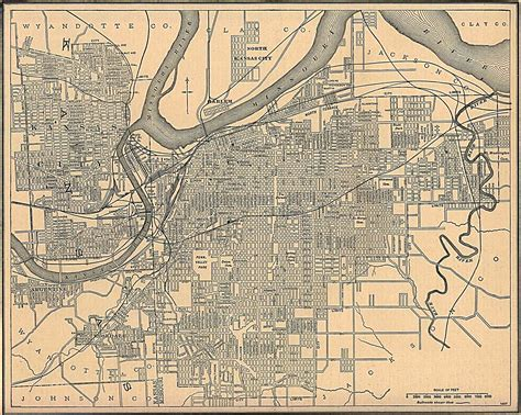 map of kansas city kansas maps perry casta 241 eda map collection ut library