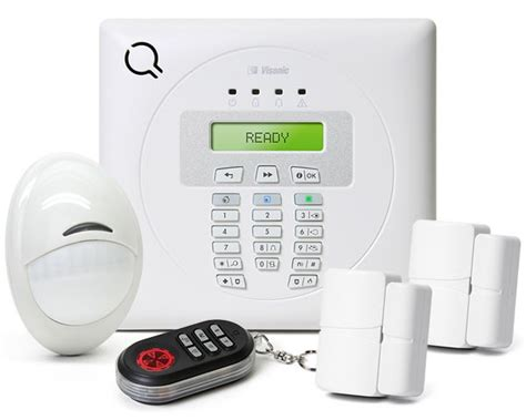 visonic powermax express wireless home security system