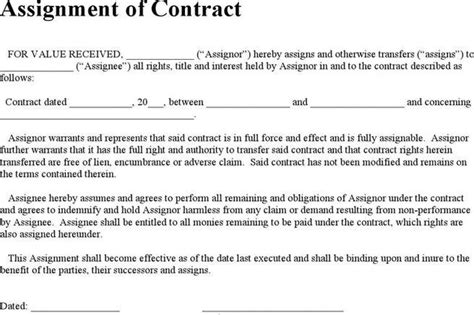 Agreement Template Download Free Premium Templates Forms Sles For Jpeg Png Pdf Word Assignment Of Construction Contract Template