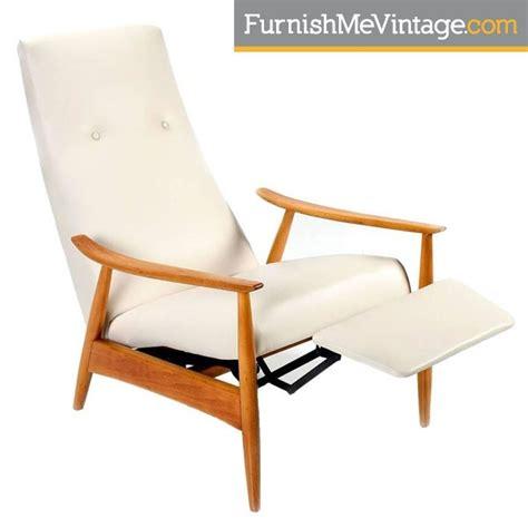 milo baughman recliner reproduction restored mid century modern milo baughman recliner