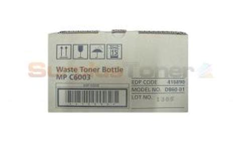 wasted mp ricoh mp c6003 waste toner bottle 416890