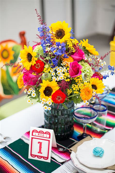 how to style a mexican themed table bespoke wedding