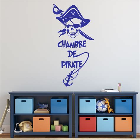 stickers chambre d enfant sticker pirate chambre d enfant stickers citations enfants ambiance sticker