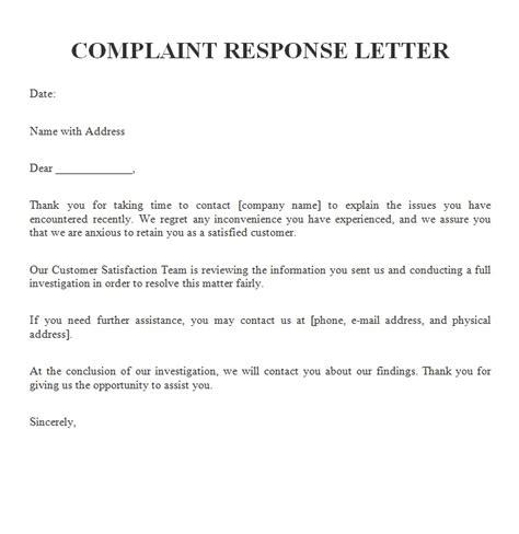 complaint letters archives sample letters