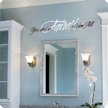 mirror decals for bathrooms bathroom wall decals quotes and sayings wall written