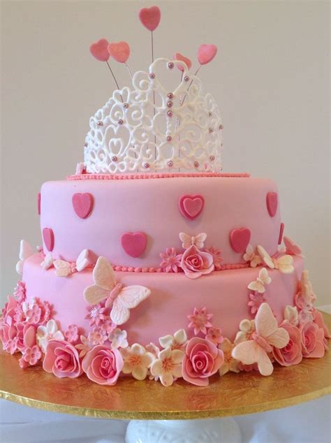 images  parkers birthday cake  pinterest pink birthday cakes birthday cakes