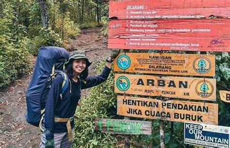 jalur pendakian gunung ciremai  palutungan gunung