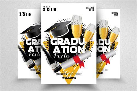 graduation flyer template 18 graduation flyer templates free premium