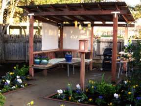 Diy Gazebo Canopy Ideas by Beautiful Backyard Makeovers Diy Landscaping Landscape