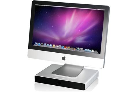Just Mobile Drawer by Just Mobile Drawer Aluminium Base Stand Lift For Apple Mac