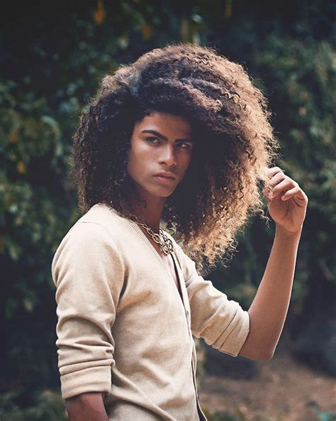 most attractive african american male hair style french african male model coh 233 paroix guys long hair