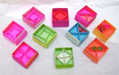 Origami Box With Divider - even more origami box dividers by wombat1138 on deviantart